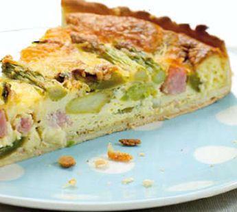 Hartige lentetaart met groene asperges - Recept - Jumbo Supermarkten