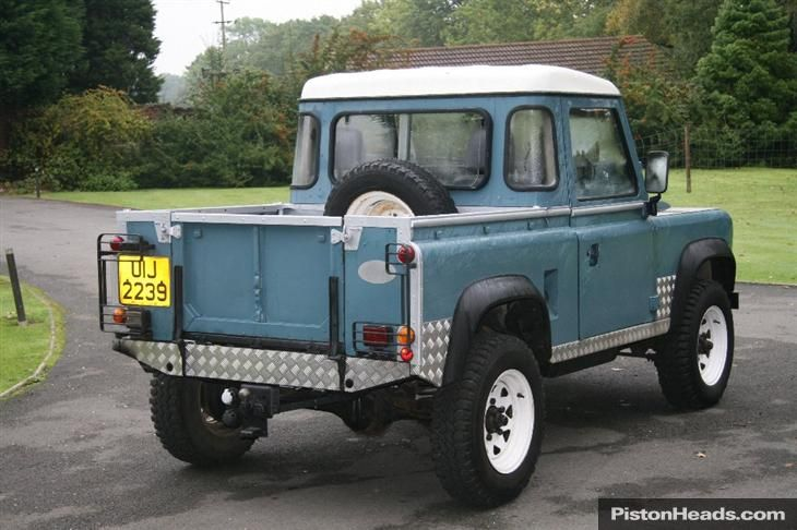 land+rover+pick+up | LAND ROVER DEFENDER 90 PICK-UP 4C (1984) For sale from Strattons, in ...