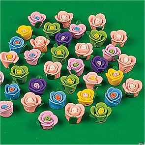 Fimo Beads.   Beads made of polymer clay.