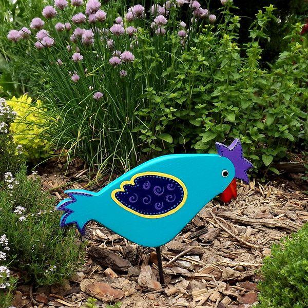 211 best Gartenzauber - Gartenkunst und Gartendeko images on - allium beetstecker aus metall