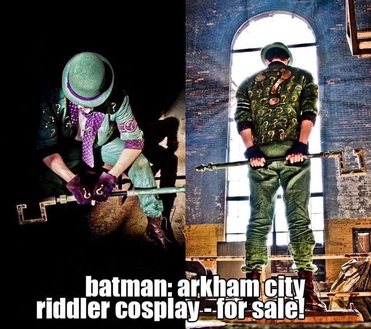 batman: arkham city riddler