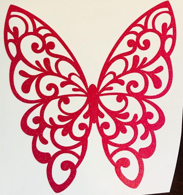 Best Vinyl Images On Pinterest - Butterfly vinyl decals