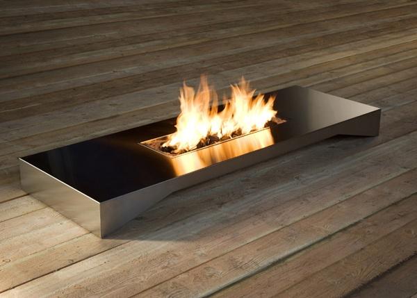 Fire table by Esa Vesmanen @Kyle Bergner: Idea, Finnish Design, House, Products, Garden, Fireplace Contemp, Fire Table