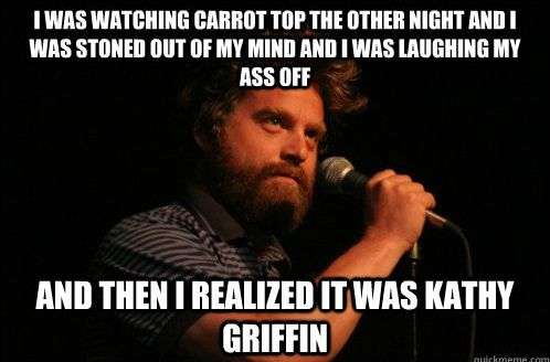 Zach Galifianakis on Carrot Top - Imgur
