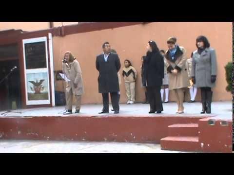 """PRIMERA CEREMONIA DEL 2015 EN LA ESCUELA SECUNDARIA TECNICA No. 1 """"MIGUEL LERDO DE TEJADA"""""""