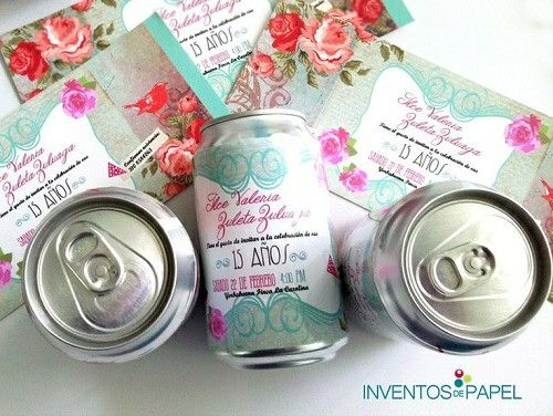 DIY -botellas personalizadas-