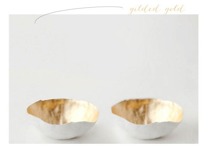 gilded-gold-bowlGildedgoldbowl Paper, Inspiration Bowls, Paper Mache, Gilded Gold Bowls Paper