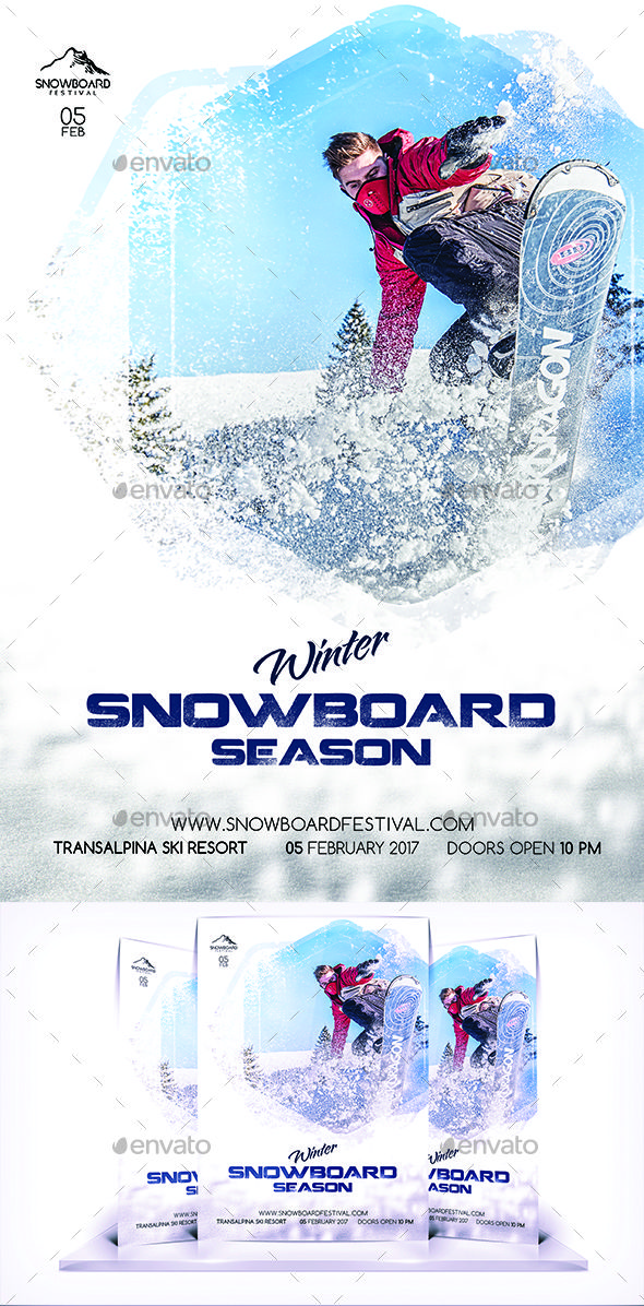 485 best Sport Flyer Template images on Pinterest Flyer template - winter flyer template