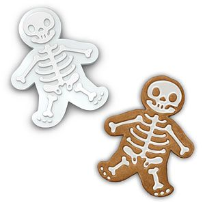 Gingerdead man cookie cutter: Holiday cookies with a twist of dark in your sweet