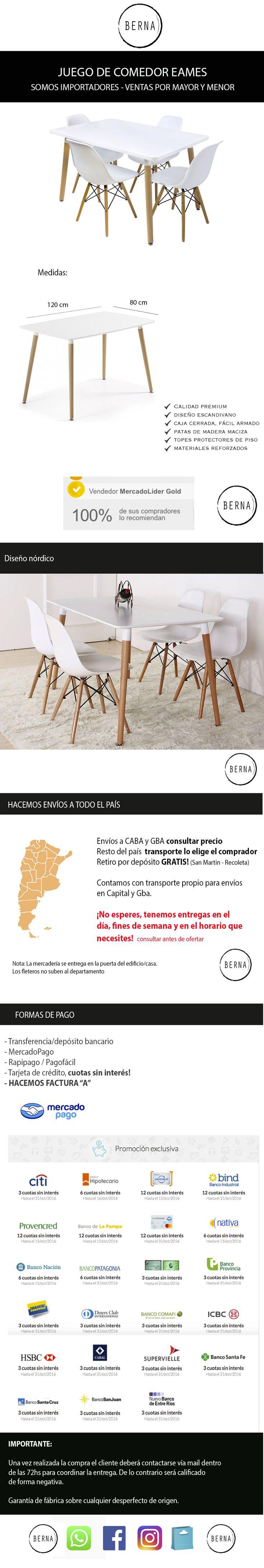 M s de 1000 ideas sobre juego de sillas de comedor en for Juego comedor diario