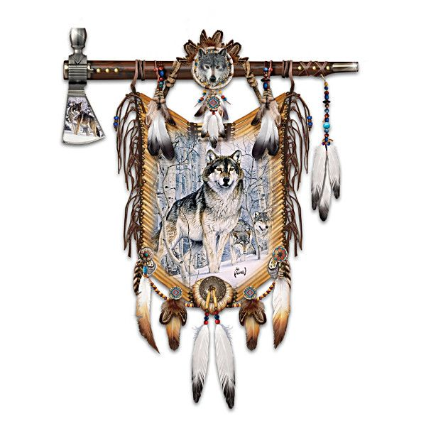 28 best al agnew collectibles images on pinterest wolves for American indian decoration