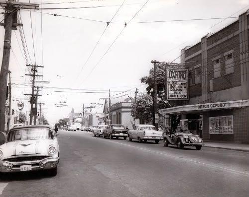 Oxford movie theatre, Quinpool Road, Halifax c1957