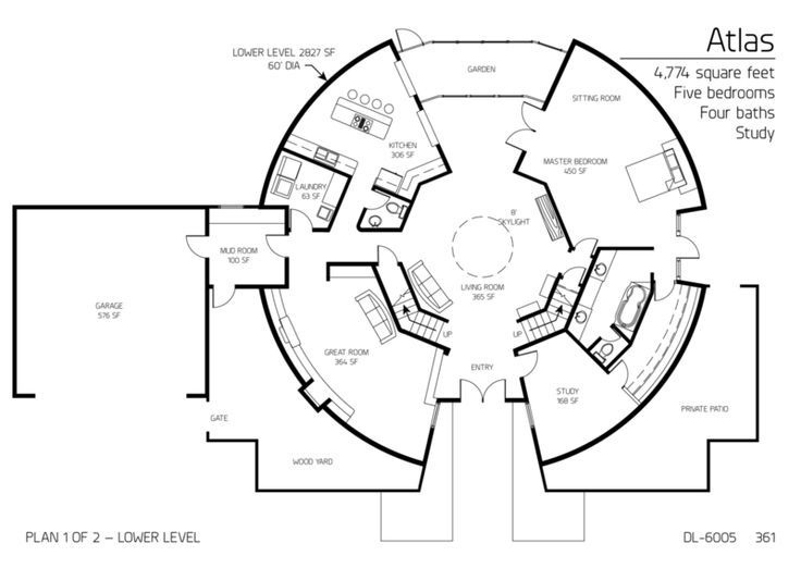 Interesting Floor Plans the 17 best images about round homes on pinterest | architecture