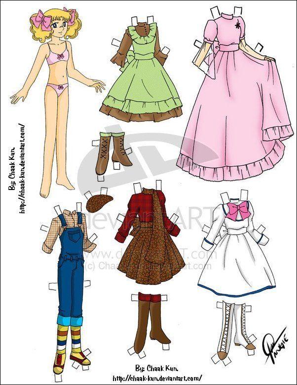 77 best Muñecas de papel images on Pinterest | Paper dolls, Vintage ...