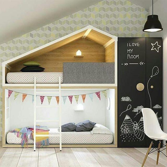 Let the magic begin!  #designbest #kidsroominspiration #kidsroomideas #blackboard