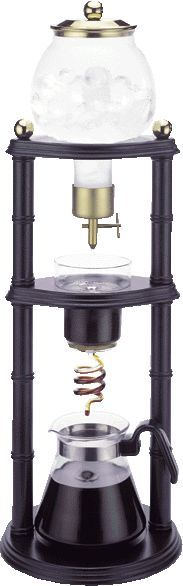 Cold drip coffee maker! If I had the money. I would so purchase one of these