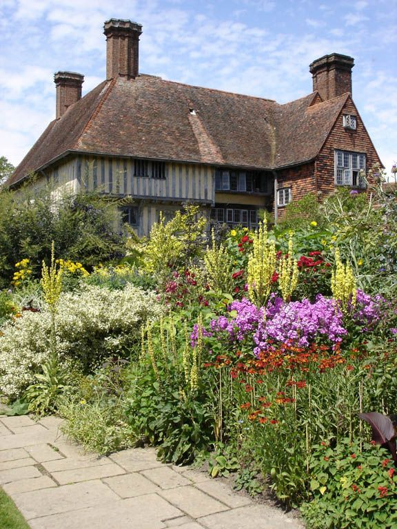 Great Dixter, East Sussex, England. Beautiful hous...