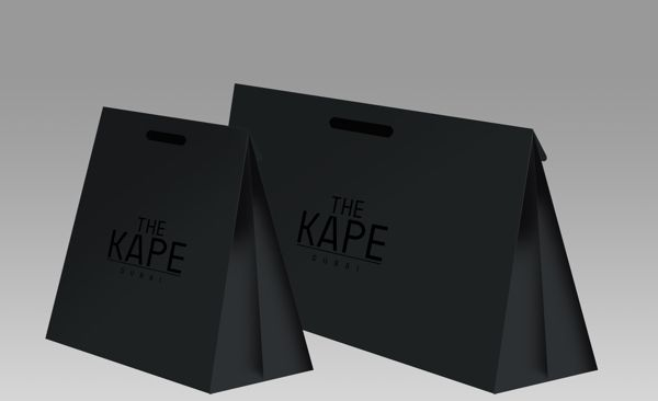 KAPE Shopping Bag by Fazil KV, via Behance