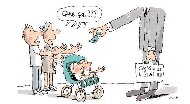 Caf Allocation Pour Une Famille Avec Deux Enfants