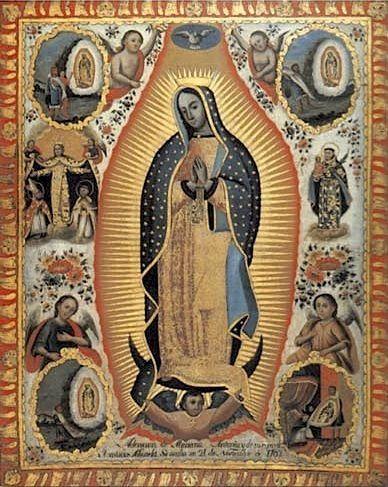 Nican Mopohua - Récit des apparitions de décembre 1531 de Notre Dame de Guadalupe au Mexique Auteur: Antonio Valeriano (1520-1605) Traduit du Náhualt à l'Espagnol par le Père Mario Rojas Sánchez en...