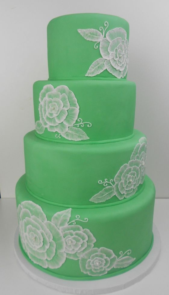 76 Best Images About Brush Embroidery Cakes On Pinterest