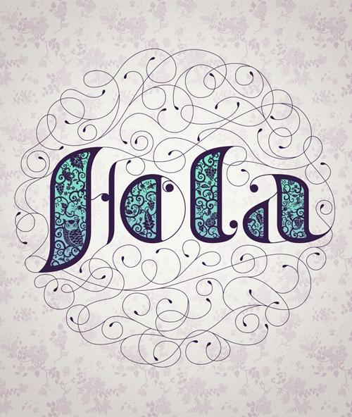 Inspiração Tipográfica #107 - Choco la Design   Choco la Design   Design é como chocolate, deixa tudo mais gostoso.