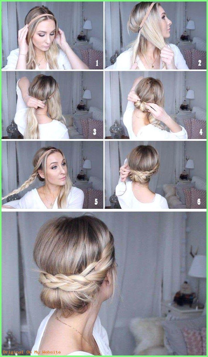 Acconciature intrecciate – Trecce di corone #stagini acconciati capelli corti # acconciature intrecciate #ge …