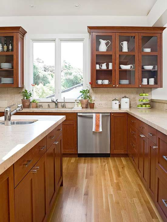 1000+ ideas about Wood Cabinets on Pinterest | Natural kitchen ...