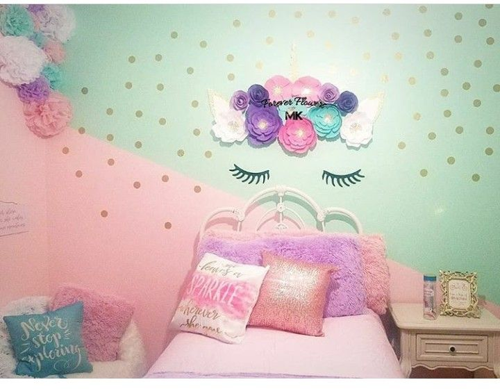 Girls Unicorn Bedroom Unicorn Theme Little Girls Room Unicorn Room Decor Unicorn Room Decor Girls Bedroom Room Unicorn Bedroom Decor