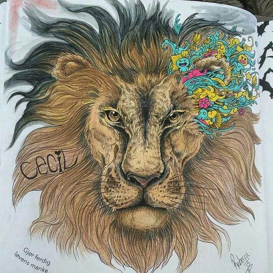 Animorphia My Tribute To Cecil