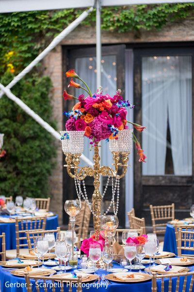 Colorful indian wedding centerpieces https://www.maharaniweddings.com/gallery/photo/141089