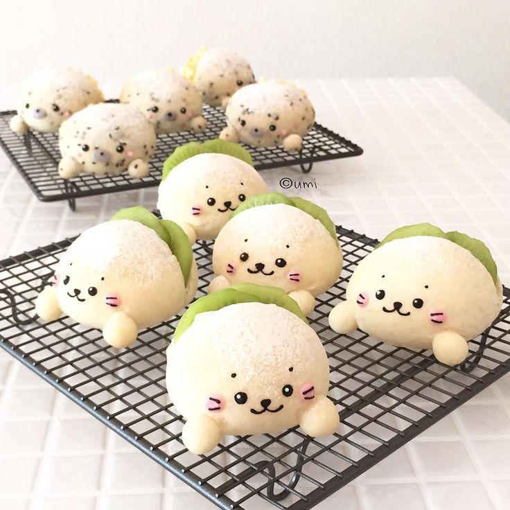 Shirotan seal bread by * umi (@umi0407)