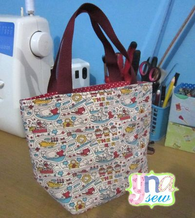 simple lunch bag