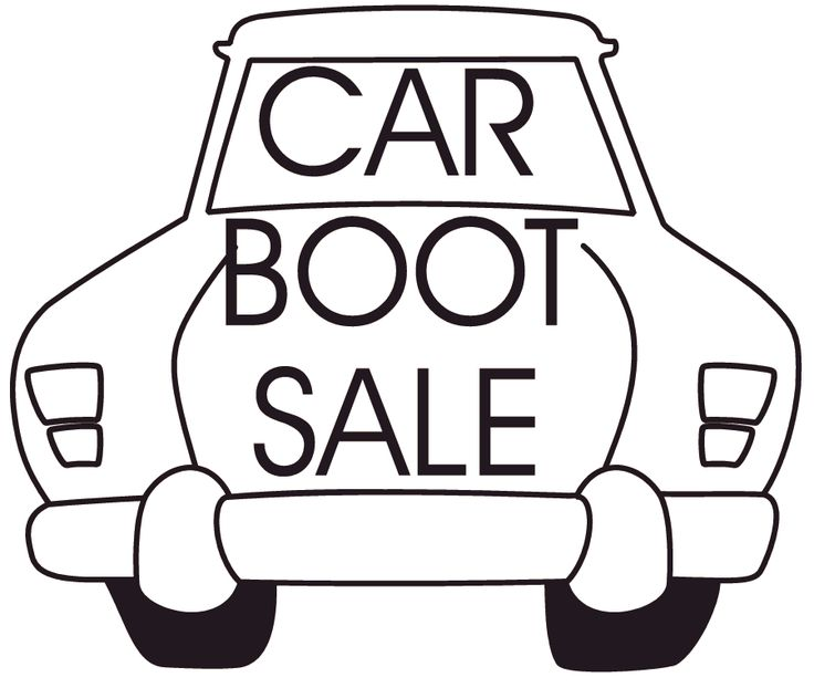 Holy Rosary car boot sale August 17