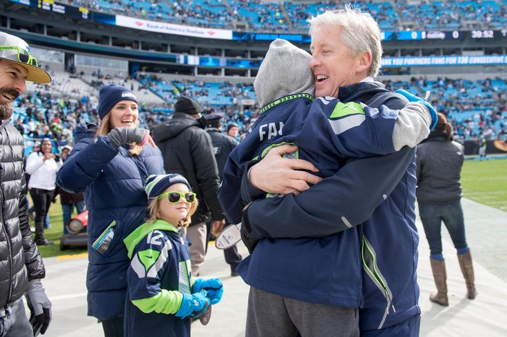 "7-year-old Seahawks fan Ade Lewis, who became internet famous last week, enjoyed an ""incredible"" day at Bank of America Stadium."