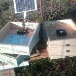 DIY solar ventilator for beehives