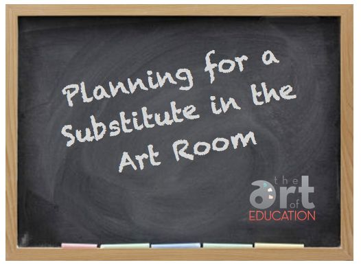Planning for a Substitute in the Art Room: All Week Long!