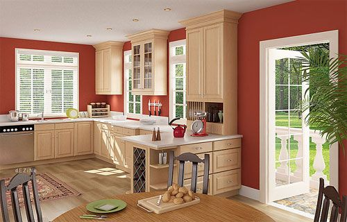 Kitchen Wall Paint Color to make the room look biger | 35 Overwhelming Paint Colors For Kitchens | CreativeFan