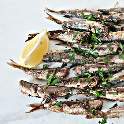 Sardines with Parsley & Lemons