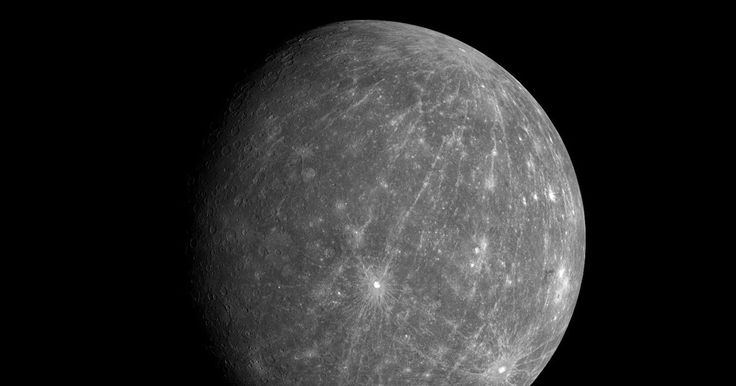 Here's why the surface of Mercury is so dark #Science #iNewsPhoto