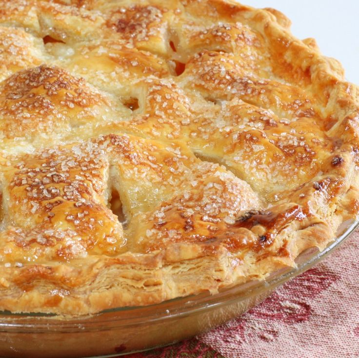 Homemade Peach Pie—the crust melts in your mouth (Wives with Knives)