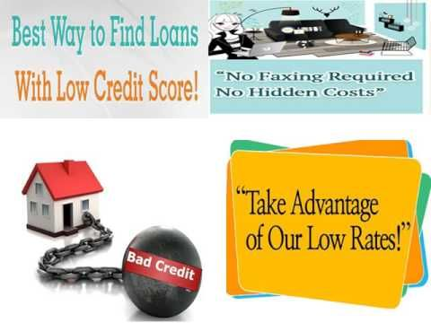 Loans for Bad Credit People- Reliable Monetary Assistance with No Pledging of Collateral!