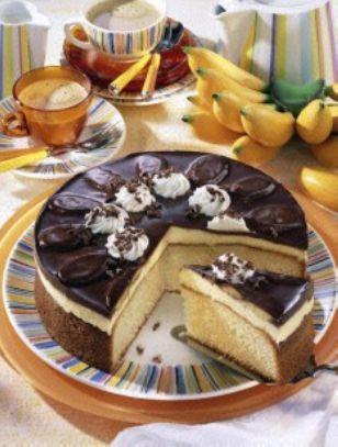 Banana torte cake recipe