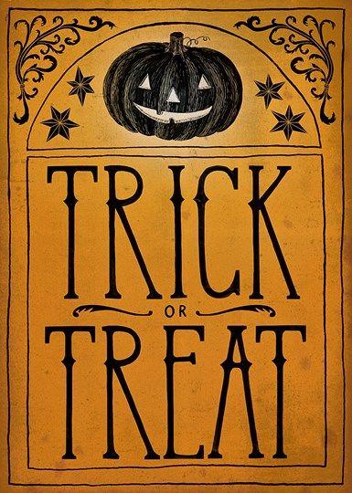Sara Zieve Miller Vintage Halloween Trick or Treat