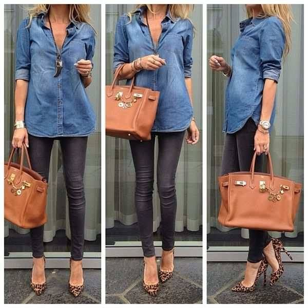 #denim #shirt #simple