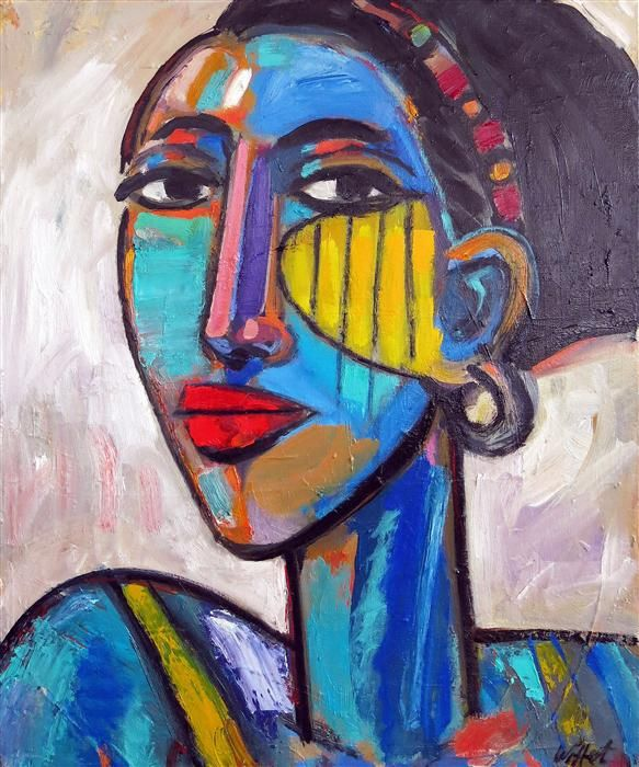 "Original art for sale at UGallery.com | North African Muse by Allen Wittert | $1,575 | oil painting | 24"" h x 18"" w 