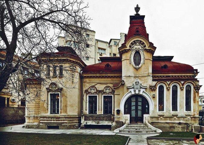 Dinu Lipatti House, Art Nouveau Style