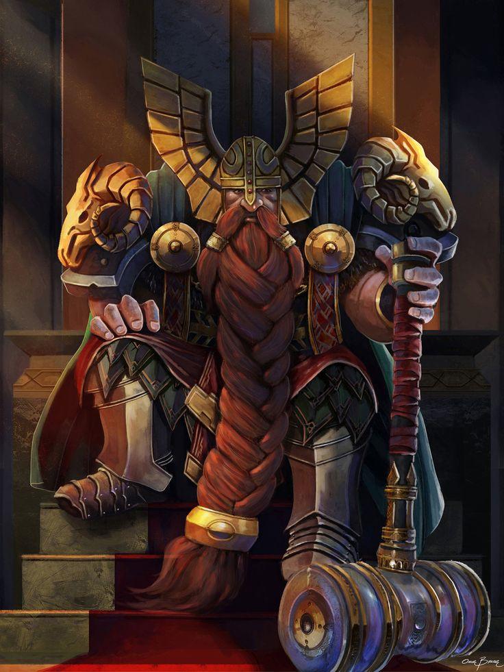 dwarf_king_by_bakarov-dap9g4g.jpg (1024×1365)