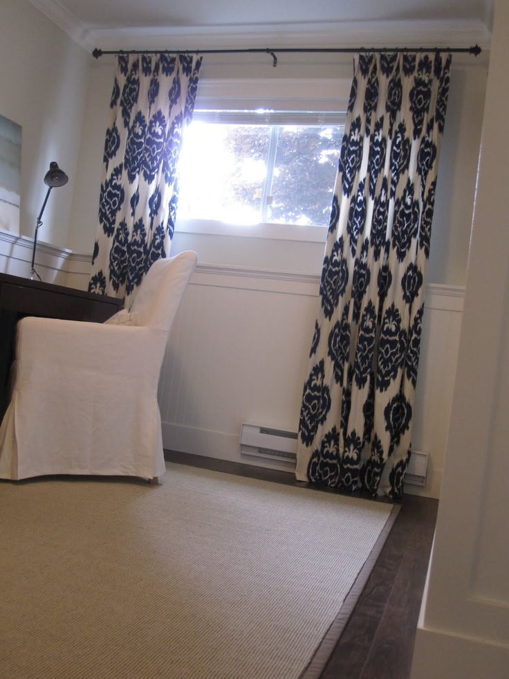 curtains for short basement windows