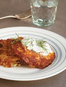 Рецепт «Веганские луково-картофельные оладьи»